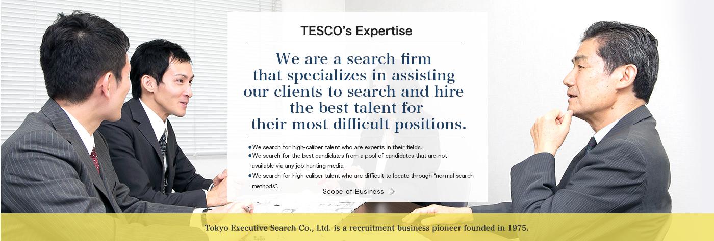 TESCO's Expertise