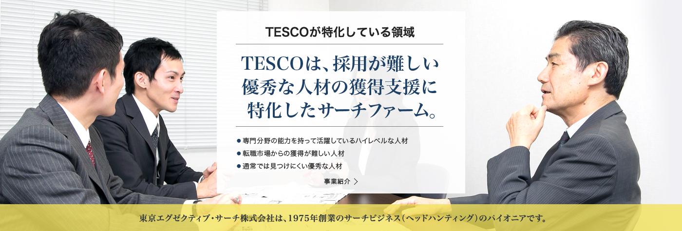 TESCOがサーチファームとして特化している領域